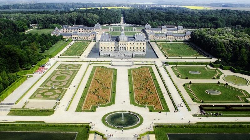 """Képtalálat a következőre: """"Vauxle Vicomte kastély"""""""