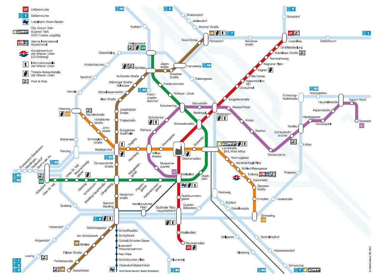 bécs metró térkép Bécs   közlekedési jegy | VÁROSKÁRTYÁK bécs metró térkép