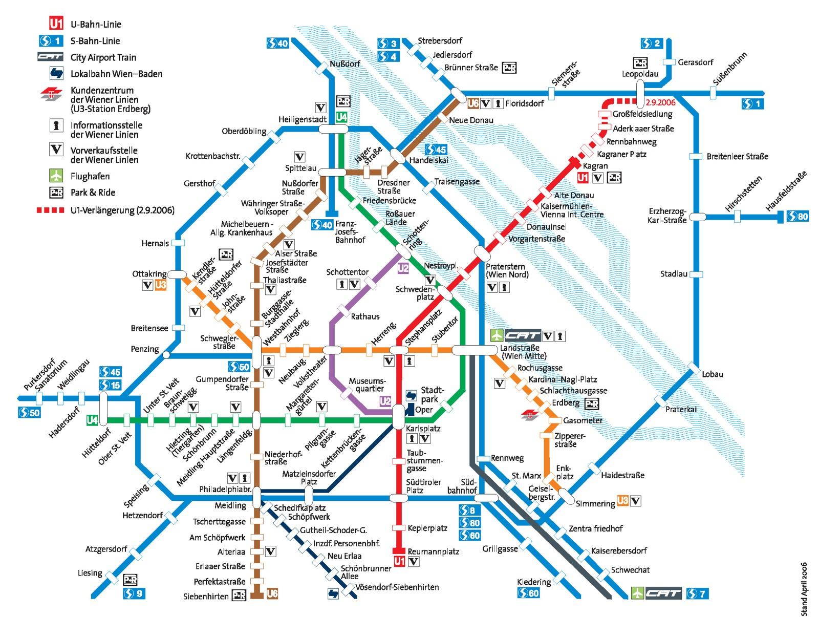 budapest bécs térkép Bécs   közlekedési jegy | VÁROSKÁRTYÁK budapest bécs térkép