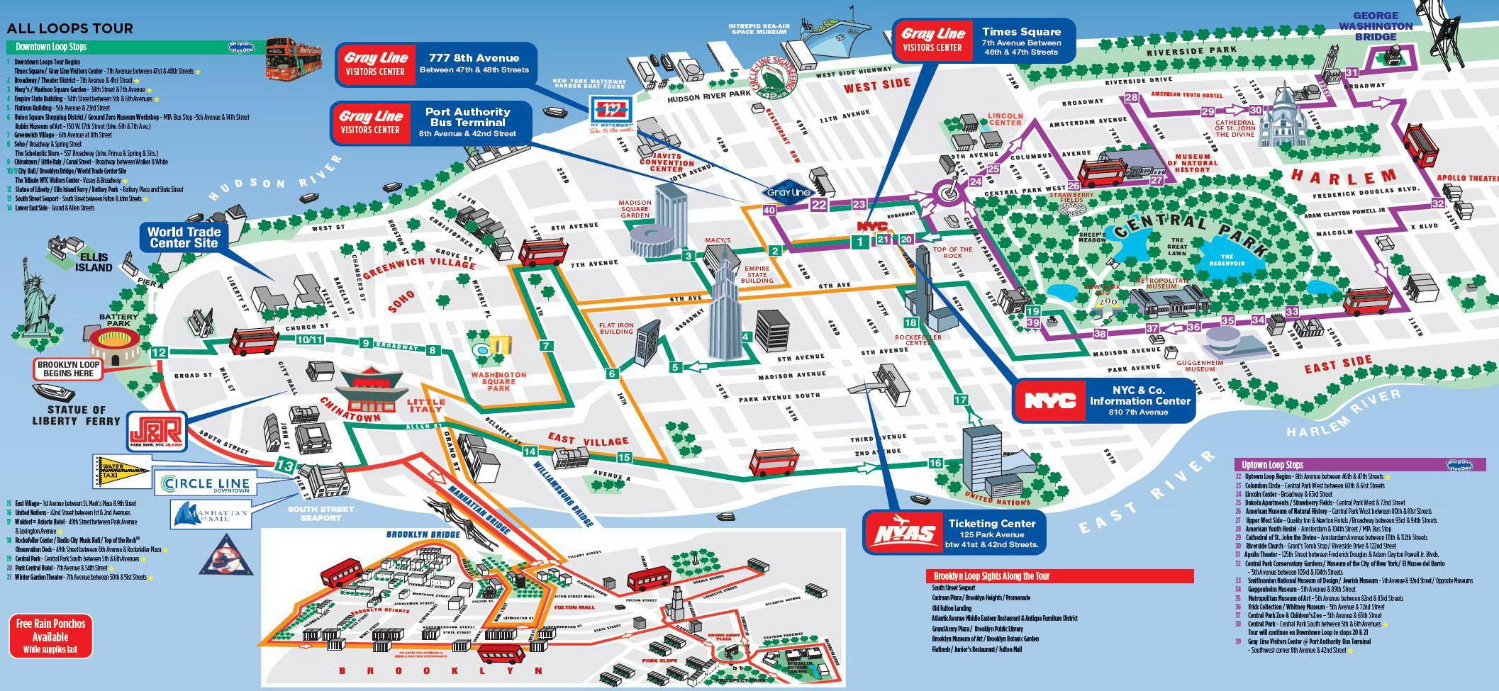 lisszabon látnivalók térkép New York   All Around Tour városnézés | VÁROSKÁRTYÁK lisszabon látnivalók térkép